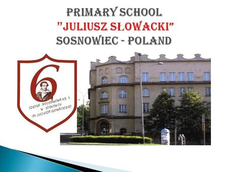 There are the following types of schools in Poland:  primary school - pupils from 6 to12 years old  gymnasium - students from 13 to15 years old (secondary.