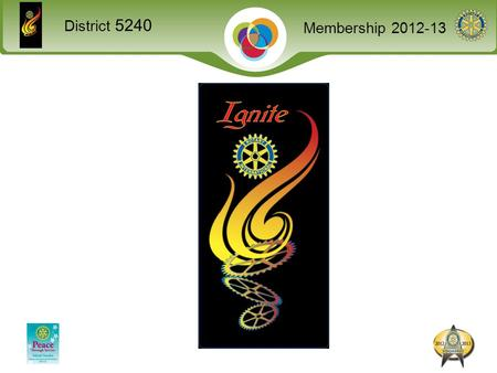 District 5240 Membership 2012-13. District 5240 Membership 2012-13 An effective club is able to… Sustain and increase its membership base. Implement successful.