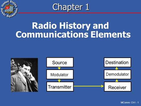 Radio History and Communications Elements
