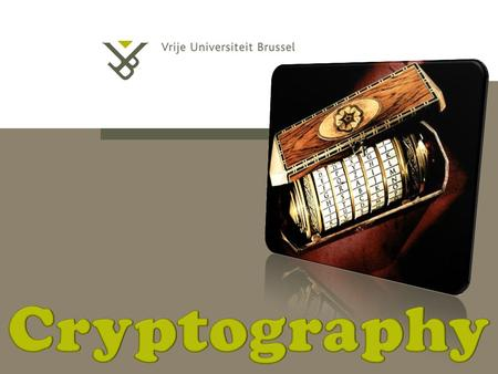 MULTIMEDIA: CRYPTO IS NOT ENOUGH 9/09/2015 | pag. 2.