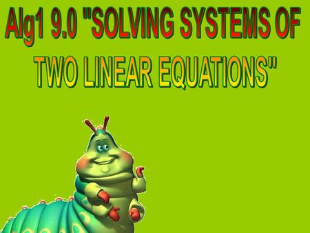DO Now (3 mins) PKB (Prior Knowledge Box) Topic: Systems of Linear Equations Misconceptions Complete this side only. List anything that you know about.