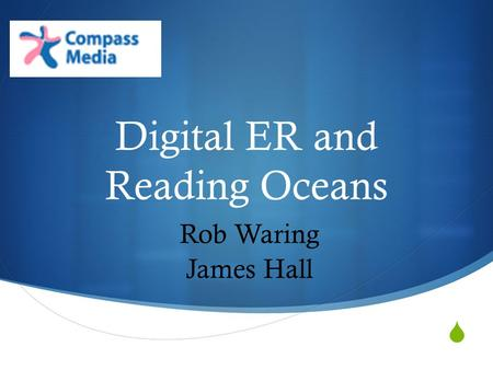  Digital ER and Reading Oceans Rob Waring James Hall.