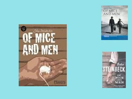 "a character analysis of curleys wife from of mice and men by john steinbeck John steinbeck ""of mice and men"" character analysis curley's wife in of mice and men by john steinbeck the character of curley's wife of mice and."