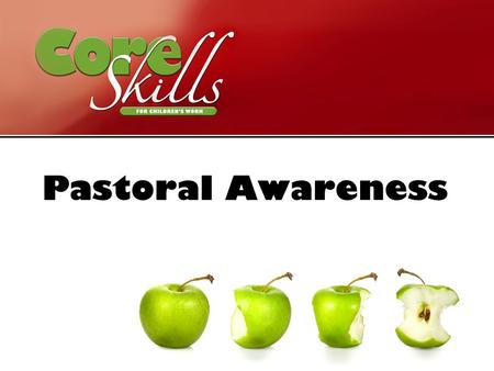 Pastoral Awareness. To explore the pastoral issues involved in working with children and reflect on practice. Aim.