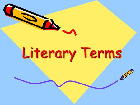 Literary Terms. Hyperbole A purposeful exaggeration or overstatement. Examples: –I–I've been waiting forever. –M–My bookbag weighs a ton! –I–It was so.