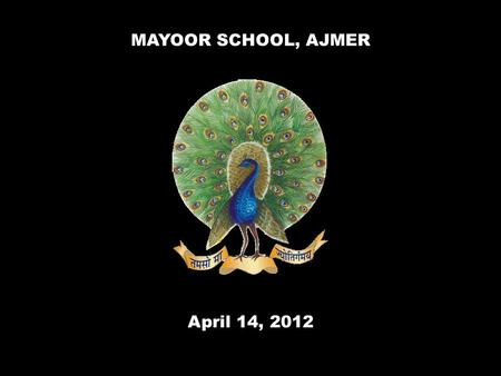 MAYOOR SCHOOL, AJMER April 14, 2012. Dr. Bhimrao Ambedkar April 14, 1891 – December 6, 1956.