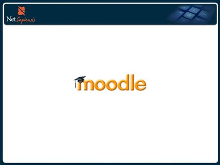 """What"" is Moodle? Moodle that is the acronym for Modular Object- Oriented Dynamic E Learning Environment it's an online Learning Management System (LMS)."