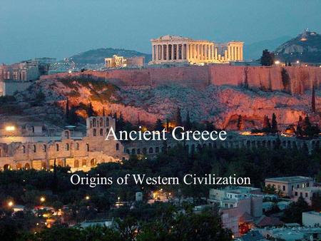 ancient greek influential to western civilization The overall influence of greek mythology on western civilization literature it can be concluded that other than the bible, classical mythology was the main foundation of western literature several well-known authors such as, shakespeare, and dante used raw greek and roman mythological works for their own literature.