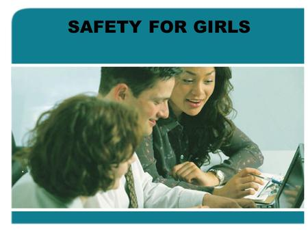 SAFETY FOR GIRLS.. Ladies... In light of the recent rape and murder of Pratibha Srikanth Murthy, an employee of the business process outsourcing arm of.