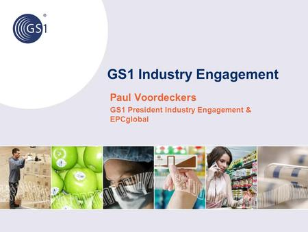 GS1 Industry Engagement