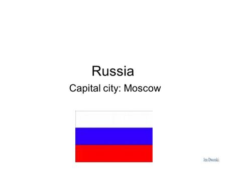 Russia Capital city: Moscow. Geography Russia is the world's largest country in area, covering more than an eighth of Earth's land. It is located in.