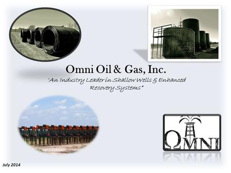 """An Industry Leader in Shallow Wells & Enhanced Recovery Systems"""