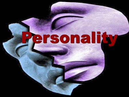 "Personality. PERSONALITY ""A relatively stable set of characteristics that influences an individual's behavior"" Or A sum total of ways in which an individual."