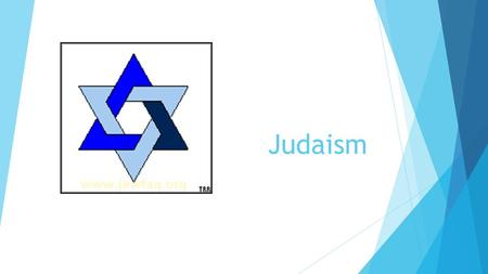 Judaism. History  Judaism originated in the Middle East over 3500 years ago  The original of the three Abrahamic faiths,  Judaism  Christianity 
