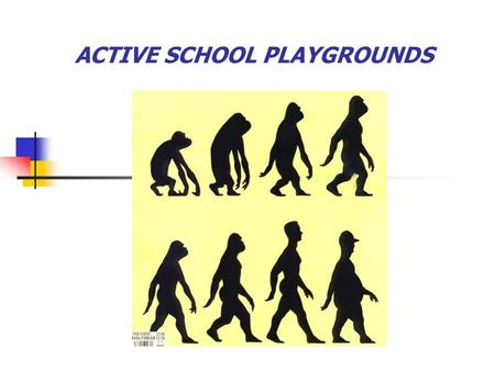 ACTIVE SCHOOL PLAYGROUNDS. SOME HEALTH CONCERNS: #1. IMPROPER NUTRITION.