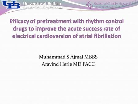 Muhammad S Ajmal MBBS Aravind Herle MD FACC. Atrial fibrillation (AF) A supraventricular tachyarrhythmia characterized by uncoordinated atrial activation.