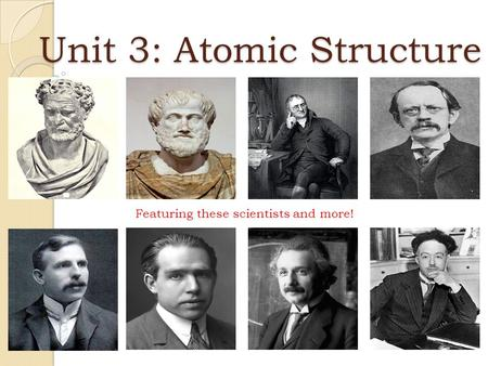 Atomic theory scientists the history of atomic structure aliese aoife
