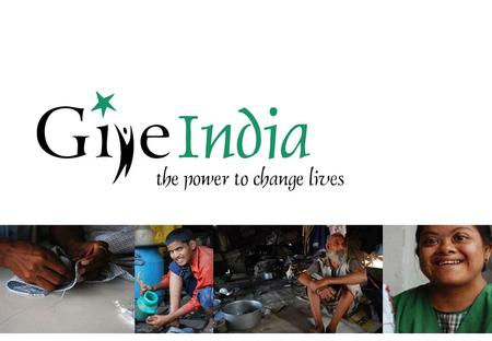 2 Agenda GiveIndia – The Organization The Growth Story.