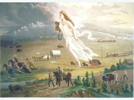 Manifest Destiny: destiny ordained by God to expand from Coast to Coast Louisiana Purchase: doubles the size of the nation, 1803, Jefferson War of 1812: