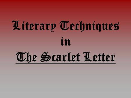 romanticism essay scarlet letter Free the scarlet letter pearl essays and papers - 123helpmefree the scarlet letter pearl papers, essays, and research papersnathaniel hawthorne in american.