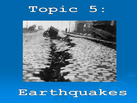 Do we live in an Earthquake area? Where in Canada do earthquakes happen?