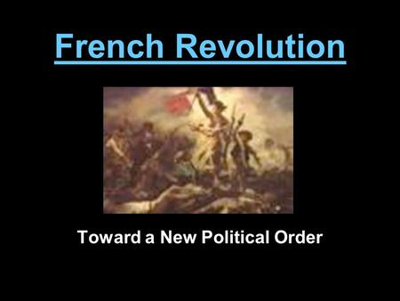 Thesis statement examples french revolution