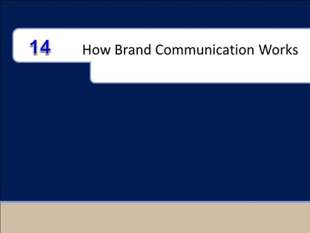 How Brand Communication Works