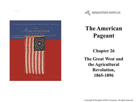 dbq american agriculture technology 1865 1900 Technological change in agriculture during the period from 1865-1900 was not  that dramatic, but some of the changes around agriculture were very significant.