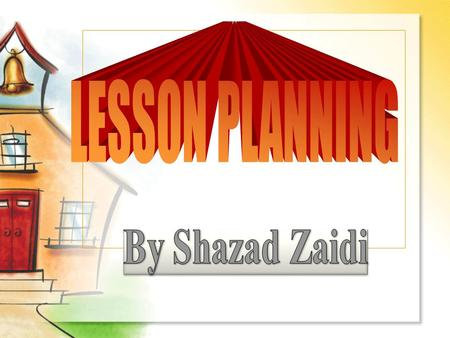 Importance of Lesson planning in ESL Teaching 1. It gives a bird's eye of view of things to be taught and learned everyday. 2. It makes you organized.