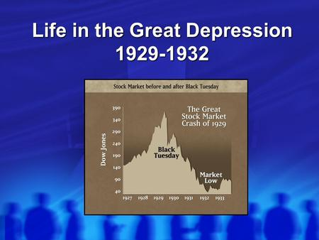 Life in the Great Depression 1929-1932. Unemployment  Thousands of businesses shut down (esp. luxury items/services)  Millions of workers were unemployed.