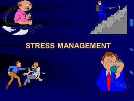 STRESS MANAGEMENT. General Awareness Understanding Stress Effective management of Stress Symptoms of Stress Sources of Stress Effects of Stress Handling.