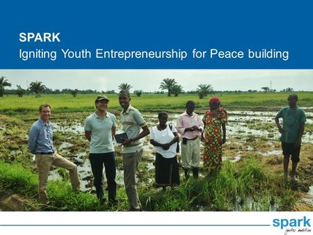 Igniting Youth Entrepreneurship for Peace building SPARK.