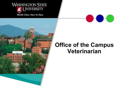 Office of the Campus Veterinarian