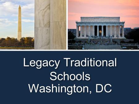 Legacy Traditional Schools Washington, DC.  MCI is a full-service travel agency, whose niche is organizing concert tours and music festivals  John.