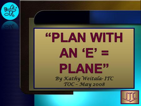 Flying a plane is a little like creating a marketing plan; neither one works very well when you guess.