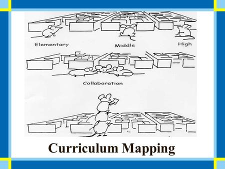 Curriculum Mapping.