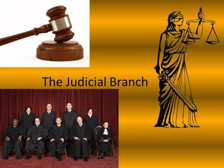 The Judicial Branch. Goals of the Judicial Branch Article 3 lays out the rules for the Federal court system of the U.S. Federal courts hear cases involving.