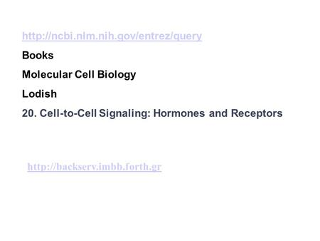 Books Molecular Cell Biology Lodish