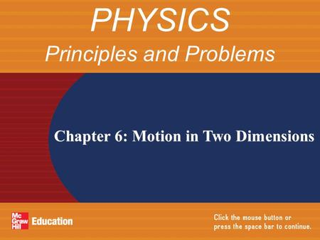 Principles and Problems