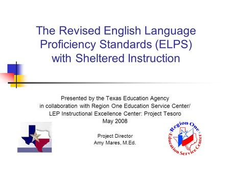 sheltered english immersion research paper Esl223n full course- sei english language teaching: foundations and methodologies esl 223n full course esl 223n week 1 discussion question 1 recently, sheltered english instruction, also known as structured english immersion (sei), has replaced bilingual education in a few states.