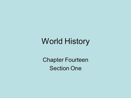 World History Chapter Fourteen Section One. Why Explore? People from Europe wanted luxury goods from the East (Asia) Items such as: spices, silk, perfumes,