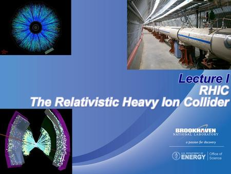 E.C. Aschenauer Varenna, July 20112 Large scientific instruments that produce and accelerate subatomic particles and 'smashes them'  Fixed target 