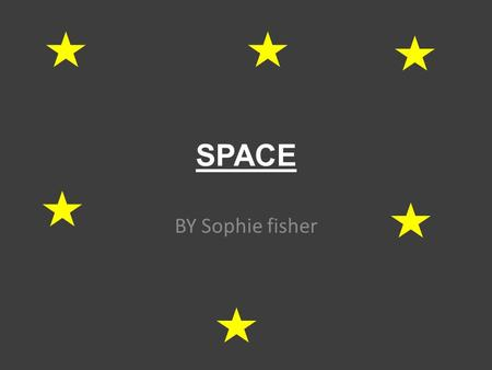 SPACE BY Sophie fisher. planets Mercury Venus Earth Mars Jupiter Saturn Uranus Neptune Pluto.