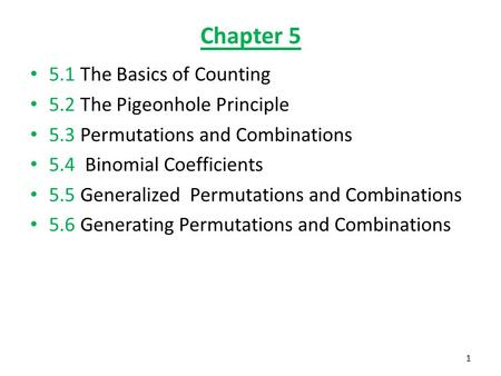 chapter the basics of counting 5 2 the pigeonhole principle ppt download. Black Bedroom Furniture Sets. Home Design Ideas