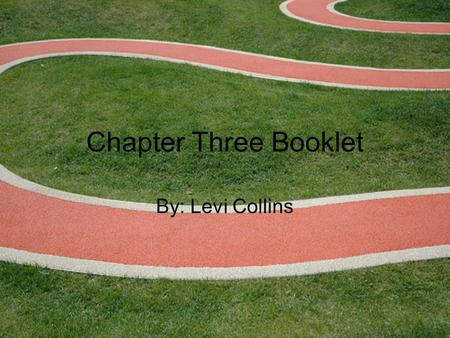 Chapter Three Booklet By: Levi Collins. Section One Vocabulary Kinetic Theory: An explanation of how particles in matter behave. Melting Point: The particles.
