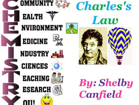 Charles's Law By: Shelby Canfield.