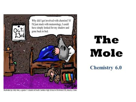 The Mole Chemistry 6.0.