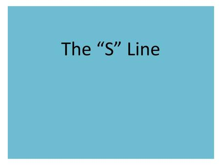"The ""S"" Line. Revision あ い う え お か く け."