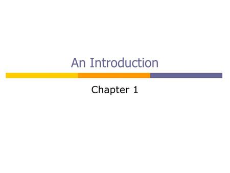 An Introduction Chapter 1. 2301274 Chapter 1 Introduction2 Computer Systems  Programmable machines  Hardware + Software (program) HardwareProgram.
