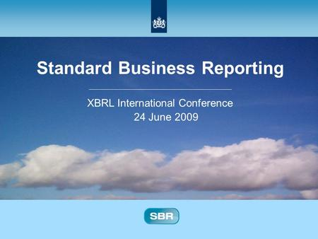 standard business reporting netherlands